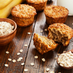 Mix Fruit Protein Oat Muffins
